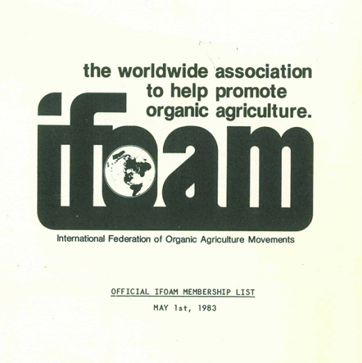 IFOAM logo 1983
