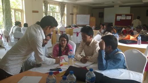NMA Nepal 2016 Classroom