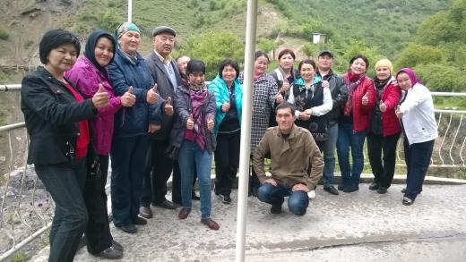 NMA Kyrgyzstan 2016 Excursion