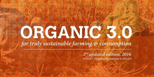 Organic 3.0   For truly sustainable farming & consumption