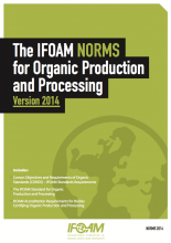 2014 IFOAM Norms cover
